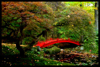 Red Bridge, Steinhardt Gardens, Bedford, New York