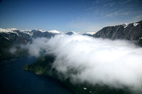 Aerial View of Misty Fjords National Park, Near Ketchikan, Alaska