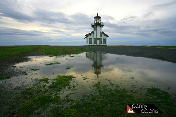 After the Storm, Point Cabrillo Lighthouse, Mendocino County, California