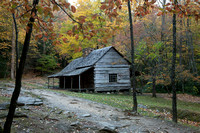 "Noah ""Bud"" Ogle Cabin, Roaring Fork Motor Trail, Great Smoky Mountains, Tennessee"