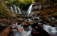 Soco Falls, Near Cherokee, North Carolina