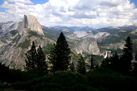 View of Yosemite Valley Near Glacier Point, Yosemite National Pa