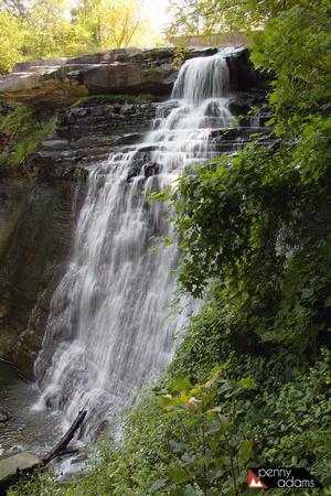 Brandywine Falls Cuyahoga Valley National Park Sagamore